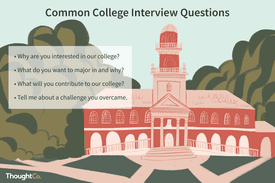 Common college interview questions