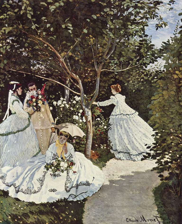 Claude Monet's Women in the Garden (Femmes au jardin)