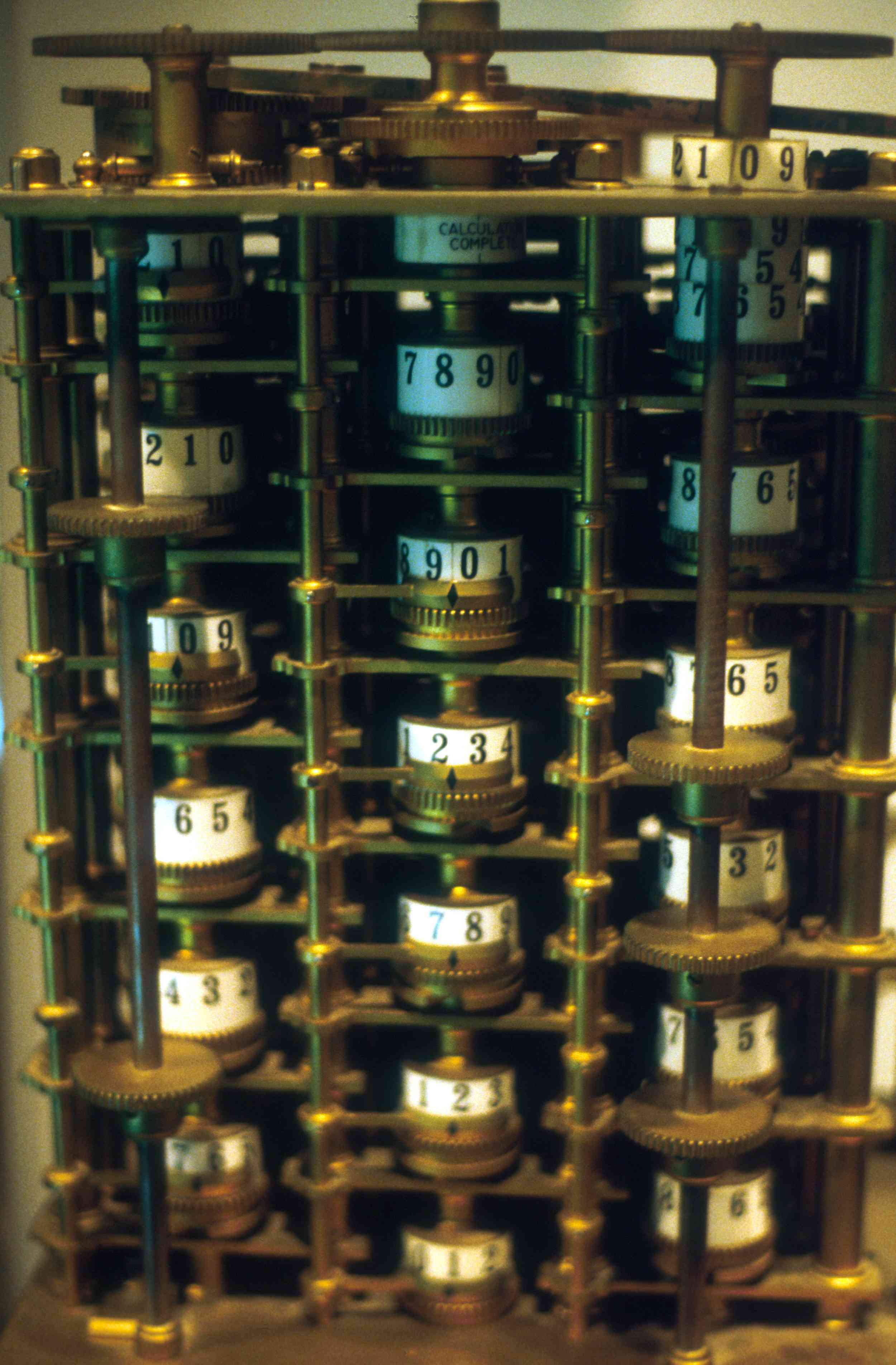 Charles Babbage's Difference Engine Prototype, 1824–1832