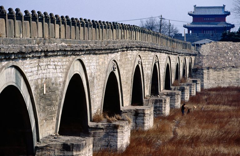 Marco Polo Bridge, Beijing, China