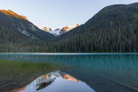 Canada, British Columbia, Joffre Lakes Provincial Park, Lower Joffre Lake