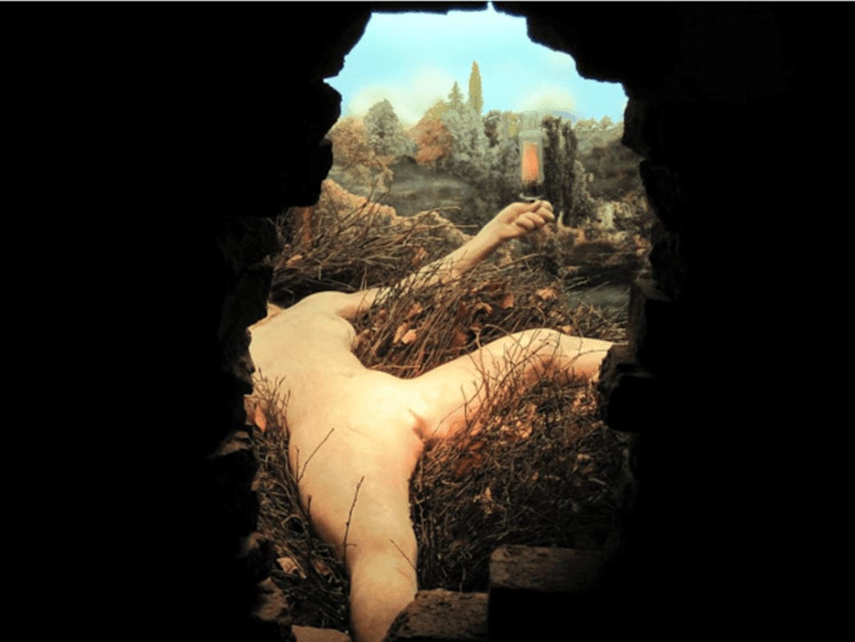 Etant donnes by Duchamp