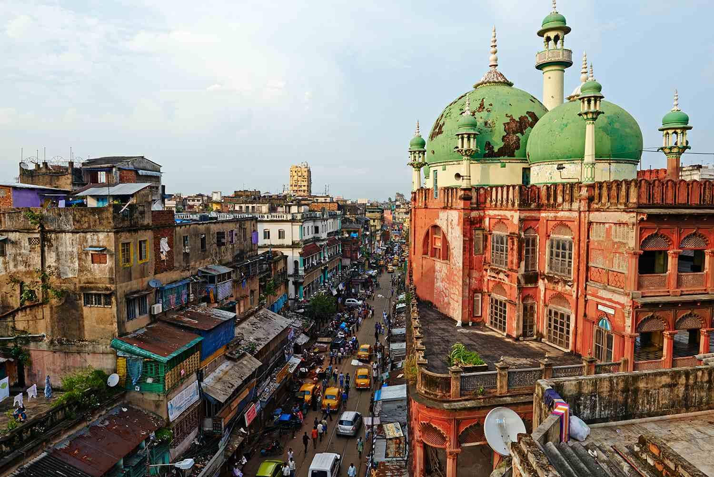 India, West Bengal, Kolkata, Nakhoda mosque