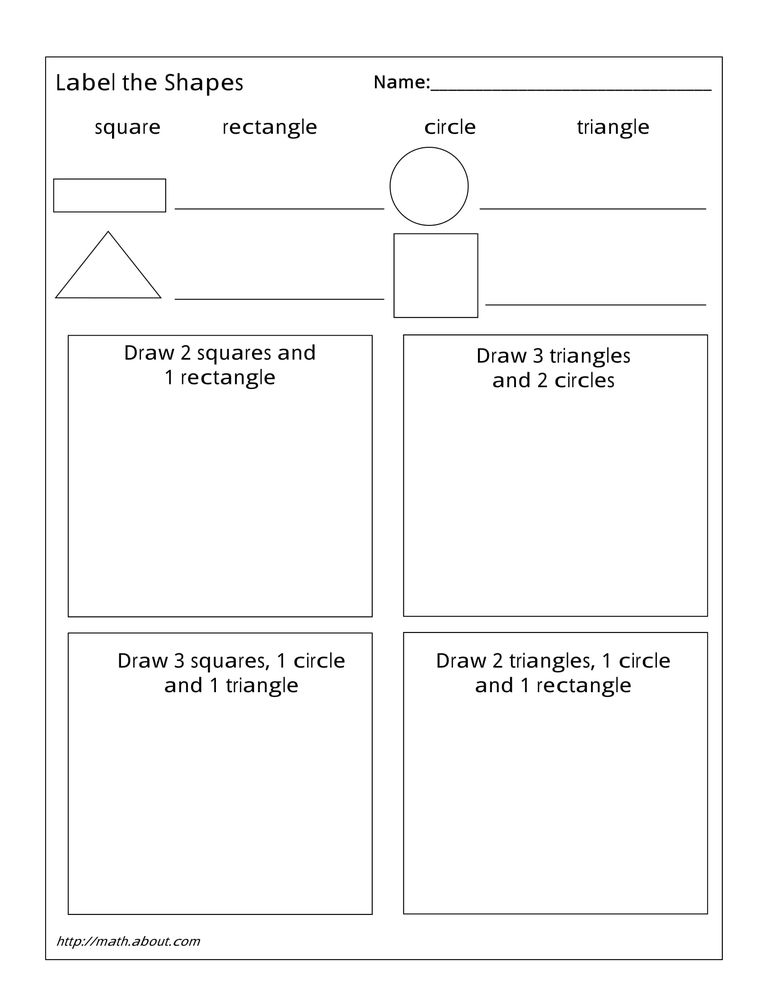 Geometry Worksheets For Students In 1st Grade. Shapes 1 Worksheet. Worksheet. Worksheet Identifying Types Of Triangles At Mspartners.co