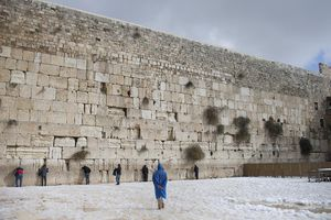 Snow Storms Continue In Israel