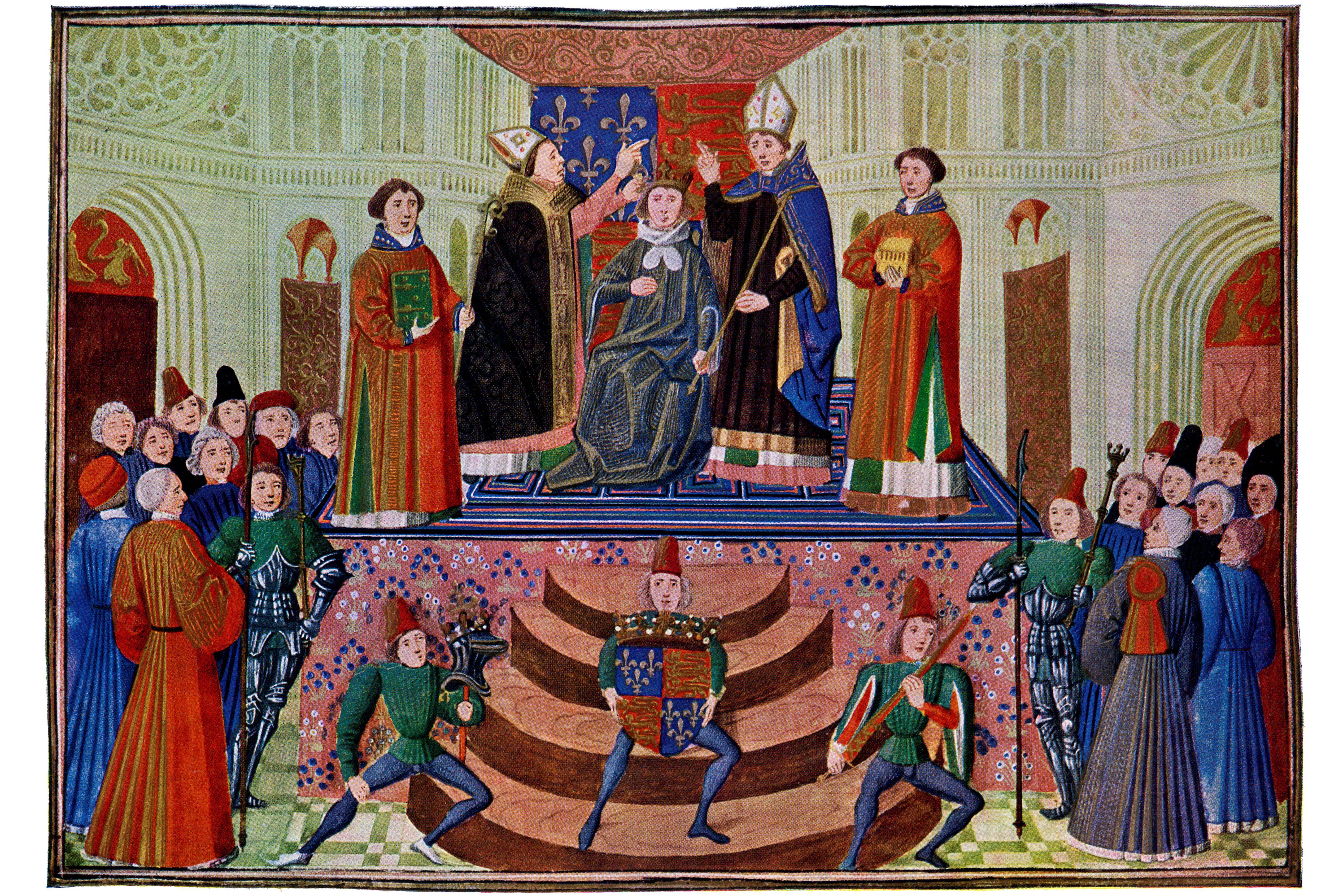 Coronation of Henry IV, 1399
