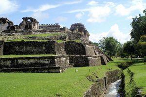 Temple Aqueduct at Palenque