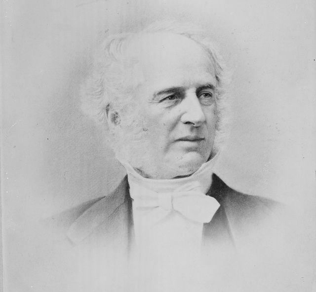 Portrait of Cornelius Vanderbilt