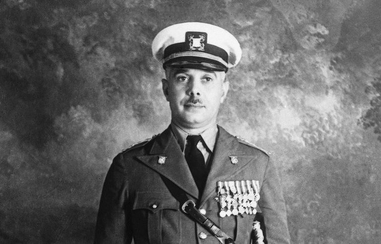 President Trujillo Molina in Uniform