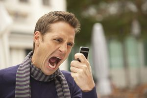 many angry with phone